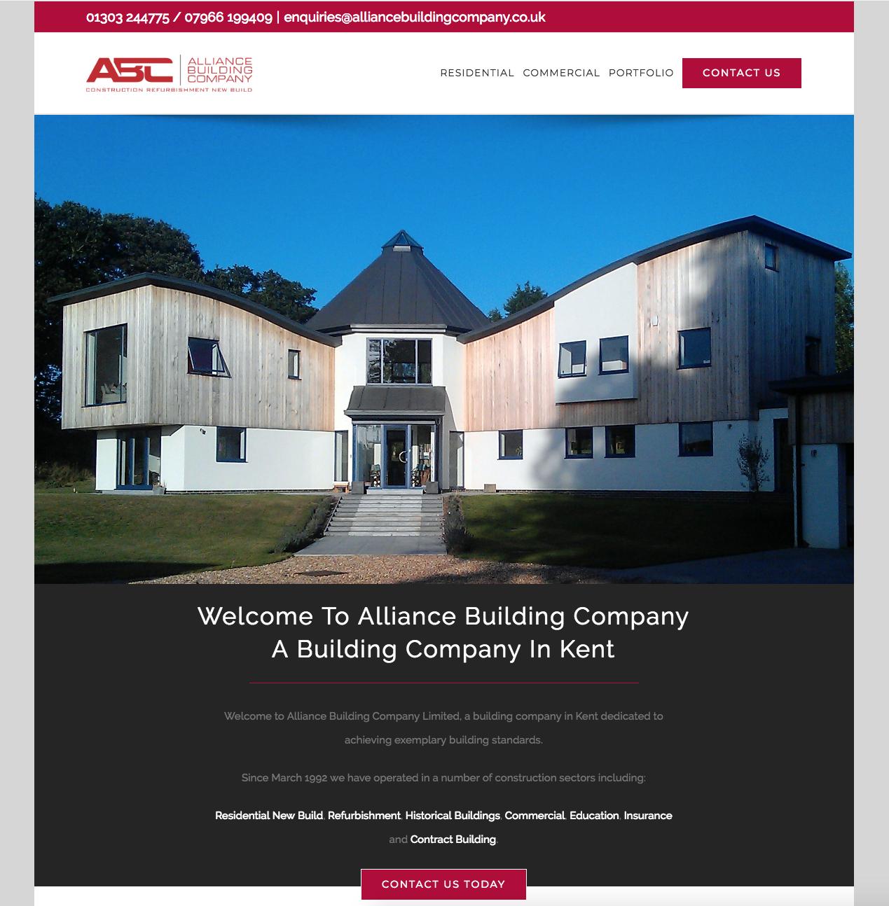 Alliance Building Website   Gloop Client